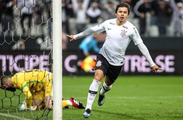 Romero marcou contra a Chapecoense  foi o sexto gol do paraguaio em três  jogos 34a57d19f6ccc