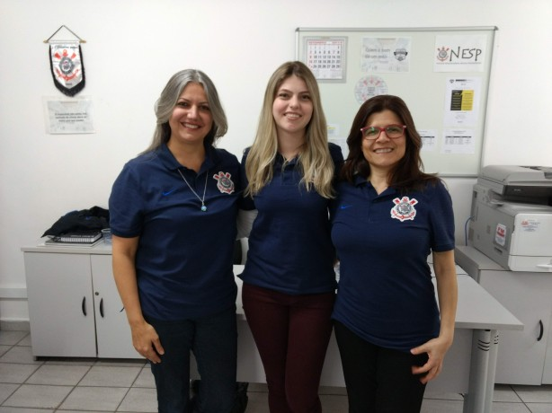 Regiane, Dominique e Rebeca comandam o NESP nas categorias de base do Corinthians