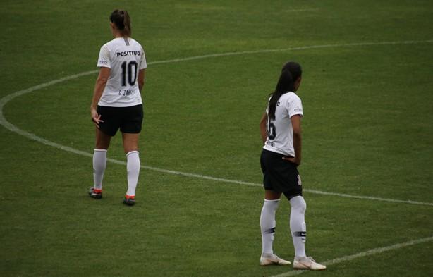Corinthians ficou no empate diante do Santos na final do Paulista Feminino cfc9596f44384