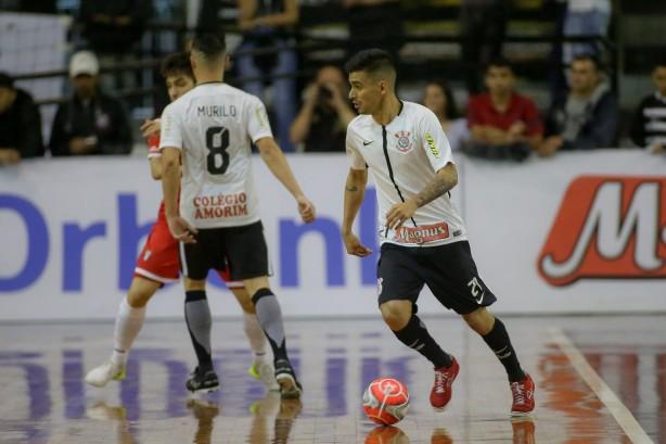aae0b24dee2dd Corinthians entra em quadra pelas quartas de final da Liga Paulista de  Futsal