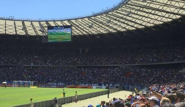 Corinthianos pagarão R  250 para ver a primeira final no estádio do Mineirão a0a64ecd41ea1