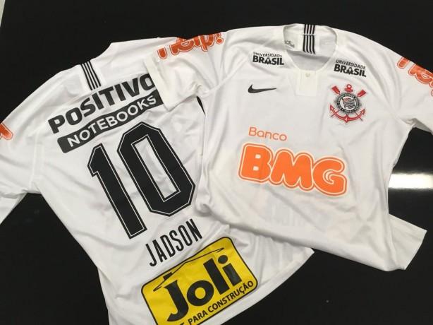 Camisa do Corinthians para primeiro jogo oficial de 2019 já tem marcas dos  novos parceiros b9f45a5745e46