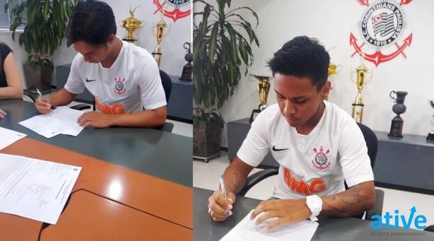 370571ebc Corinthians traz dois ex-Santos para o Sub-23  dupla tem idade