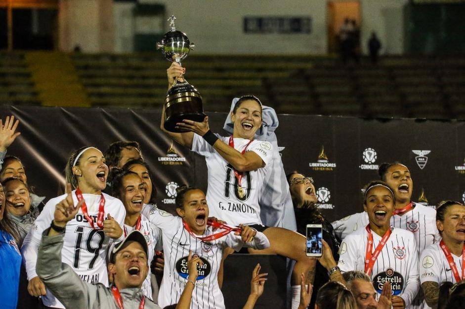 Fifa Destaca Título Da Libertadores Feminina Do Corinthians