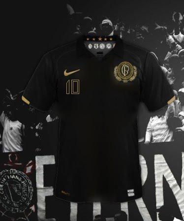 Sugestão de camisa do Corinthians - versão preta 4689d9ec95d60