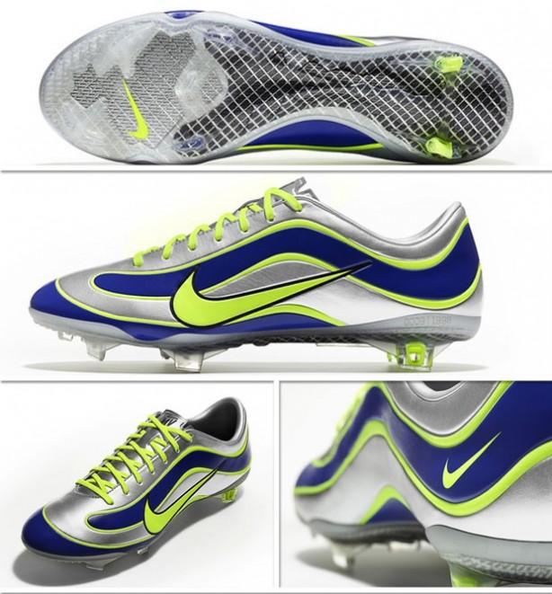 Chuteira usada por Ronaldo será relançada pela Nike 3f3d36185c484