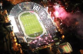 Pelo último ano, Pacaembu receberá muitos jogos do Corinthians