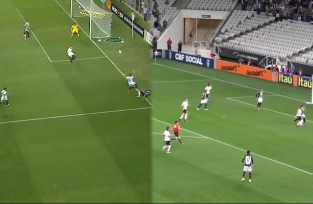 66ebac4944 VÍDEO  Gol igual ao do Atlético-MG já foi anulado quando Corinthians fez