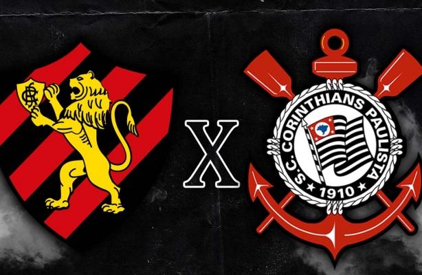 Sport X Corinthians Cazares Na Area Campeonato Brasileiro 2020