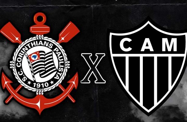 Corinthians X Atletico Mg Com Convidado Especial Campeonato Brasileiro 2020