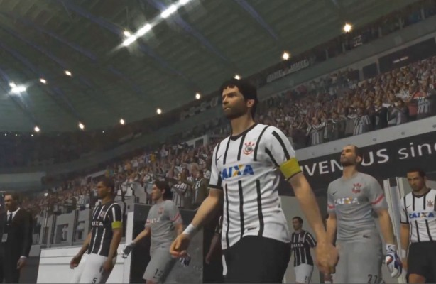Corinthians no demo do PES 2016