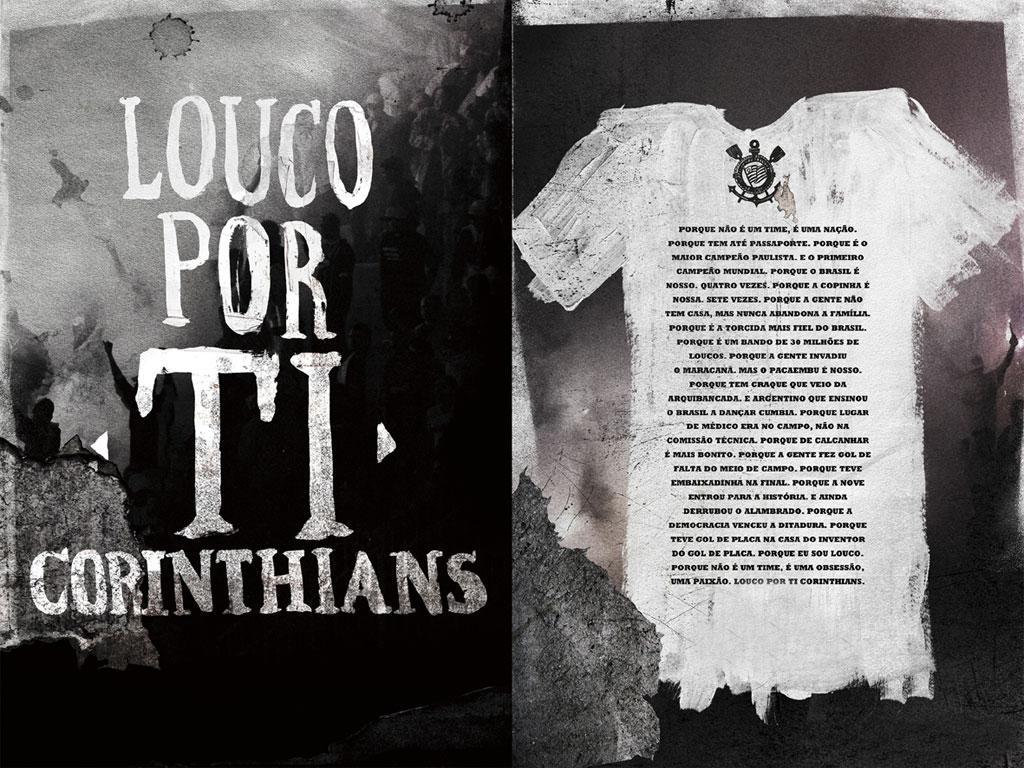Wallpaper Do Corinthians: Louco Por Ti Corinthians