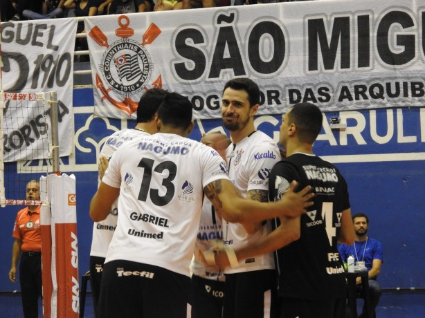 Corinthians vai enfrentar o SESI-SP nos playoffs da Superliga