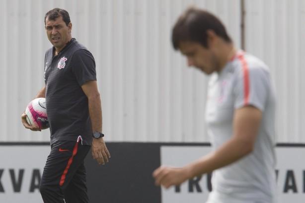 Romero participates and continues to train