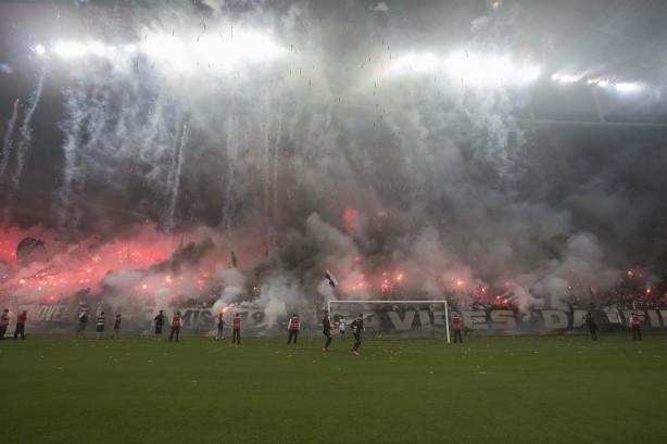 197c29939f Torcida quer repetir a festa que fez antes de clássico contra o Palmeiras
