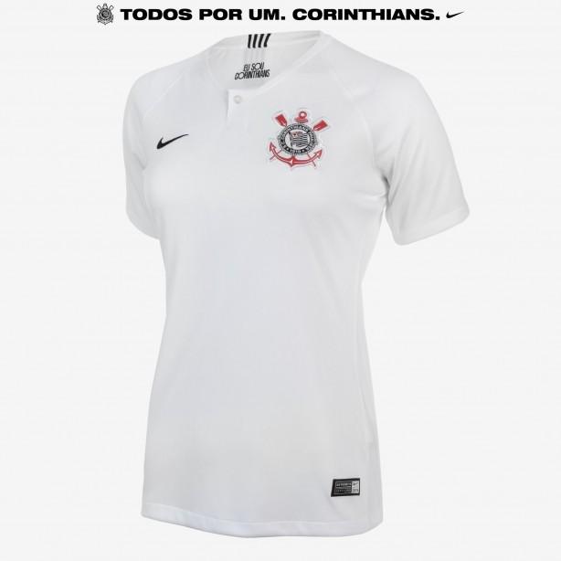 Camisa feminina do Corinthians foi a mais vendida entre clubes em 2018 ff18353b5a0fa