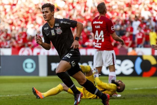 9a972cccee Vital marcou seu único gol com a camisa do Corinthians há um turno