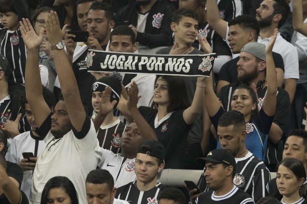 Torcida do Corinthians deve levar bom público à Arena na semana que vem  contra o Flamengo ab934015830e8