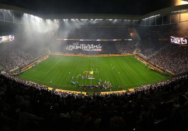 É esperado um bom público para a estreia do Corinthians pela Sul-Americana 5bc906d2eb9b6
