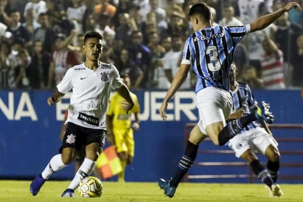 bcc835bf9d275 Oya já soma sete gols na atual edição da Copinha  é o artilheiro do  Corinthians
