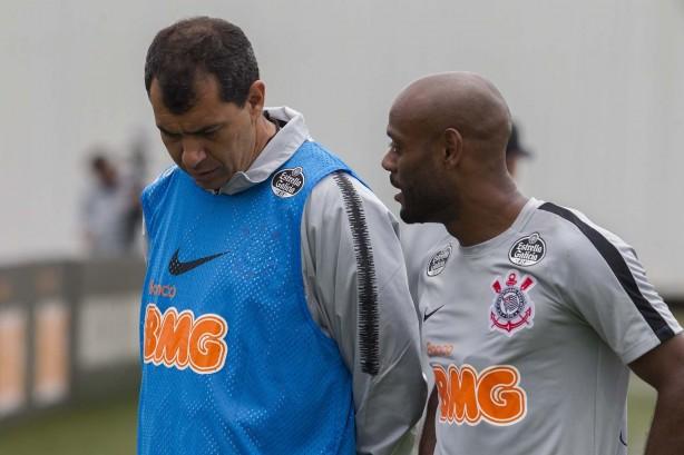 be0e7ca4f0c1b Carille e Vagner Love já haviam trabalhado juntos no Corinthians em 2015