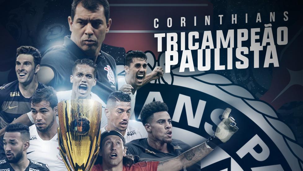 175e73bc5cc57 Corinthians tricampeão Paulista em 2019
